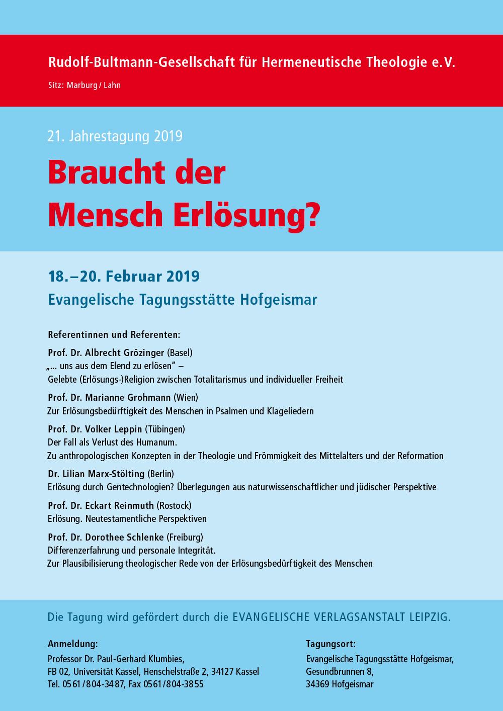Plakat_Bultmann_Gesellschaft_2019